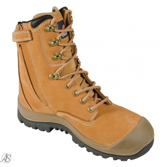MONGREL WHEAT HIGH LEG ZIP BOOT