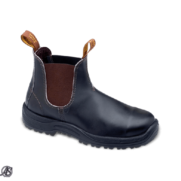 BLUNDSTONE SAFETY BROWN E/S BOOT