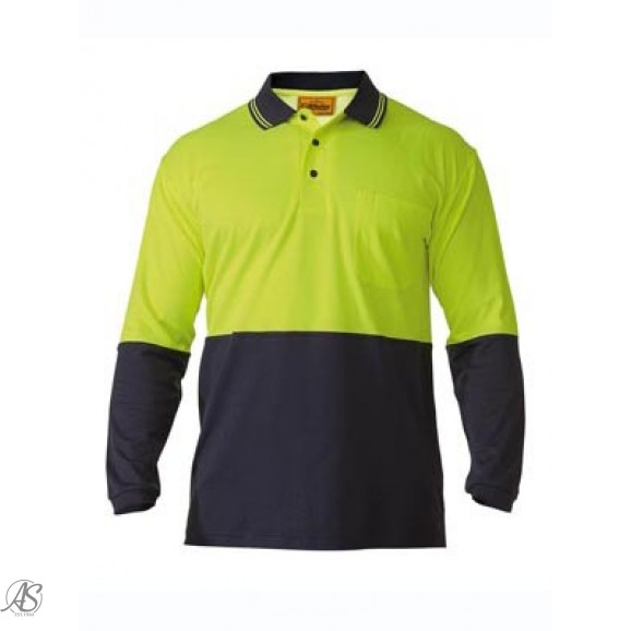BISLEY LONG SLEEVE POLO