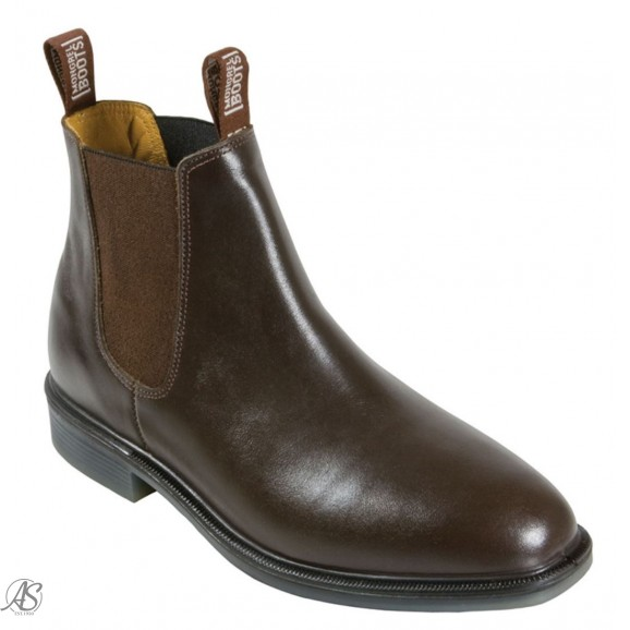 MONGREL BROWN E/S RIDING BOOT