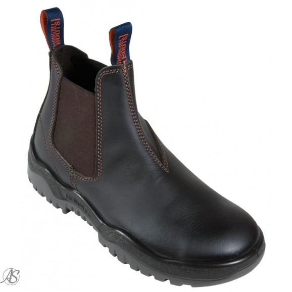 MONGREL SAFETY CLARET E/S BOOT