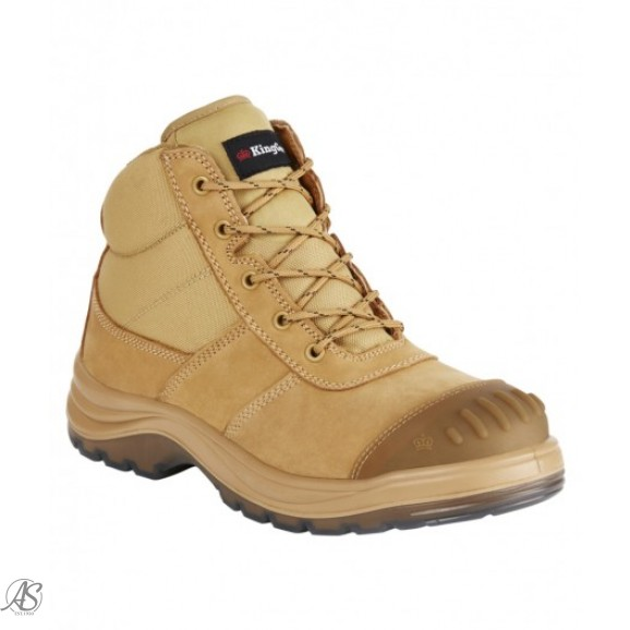 TRADIE SIDE ZIP WHEAT