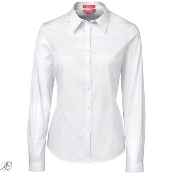 JBS L/S WHITE POPLIN SHIRT