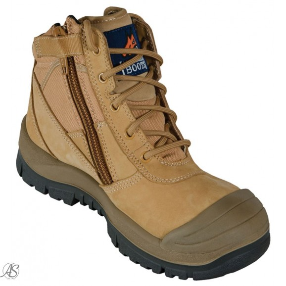 MONGREL WHEAT ZIP SIDE NON-SAFETY BOOT